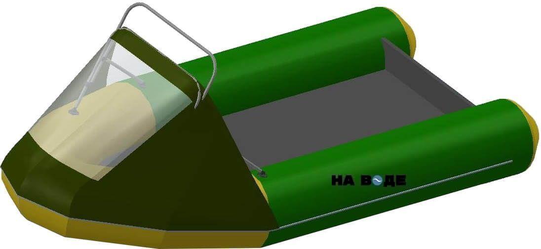 Носовой тент с таргой на лодку Фрегат М-430 FM Light Jet - фото 6