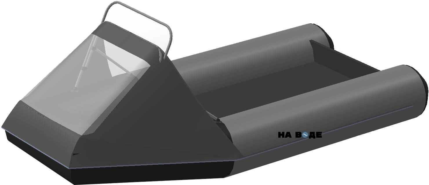 Носовой тент с таргой на лодку Yukona (Юкона) 300 TLK - фото 8