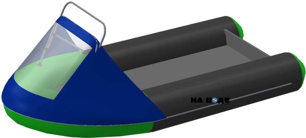 Носовой тент с таргой на лодку HYDRA (Гидра)-365 ПРО - фото 1