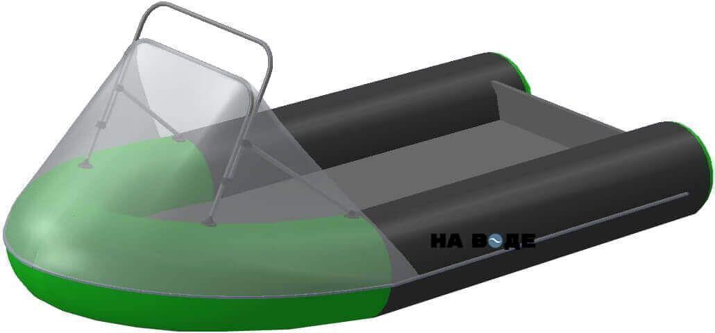 Носовой тент с таргой на лодку HYDRA (Гидра)-365 ПРО - фото 6