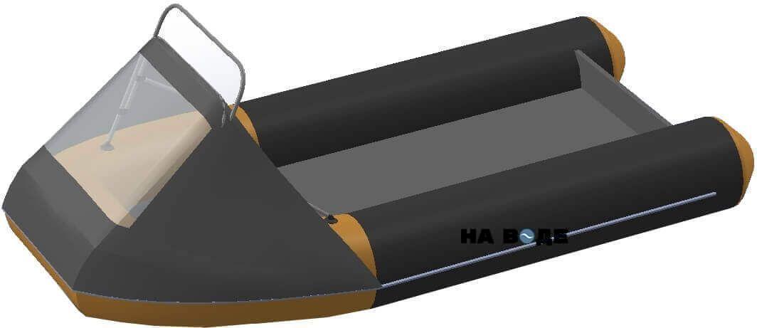 Носовой тент с таргой на лодку Флагман DK 350 - фото 6