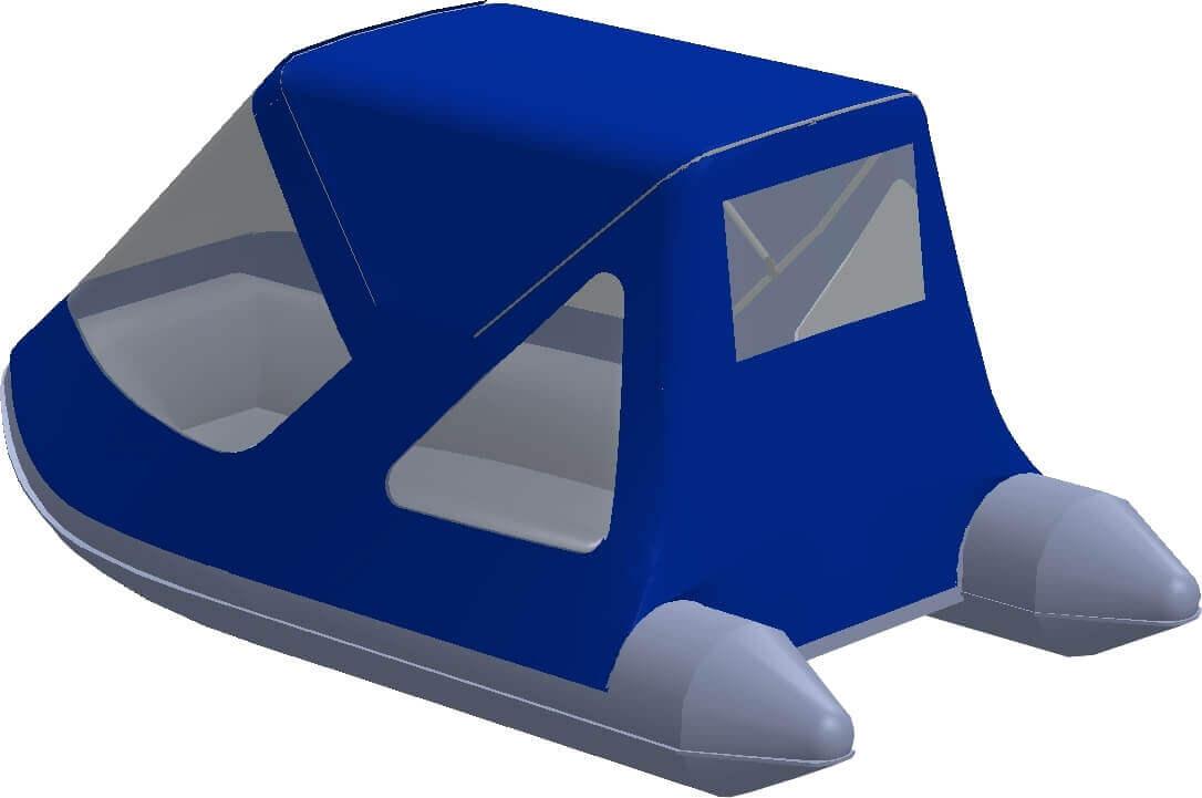 Тент трансформер на лодку AZIMUT (Азимут) Vector 340 - фото 2