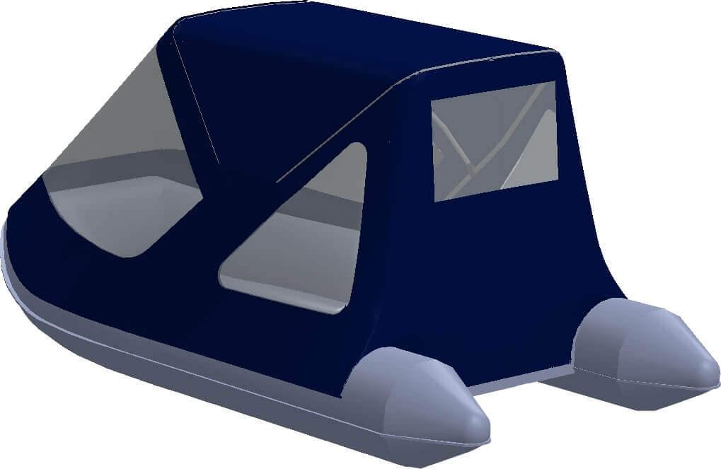 Тент трансформер на лодку AZIMUT (Азимут) Vector 340 - фото 4