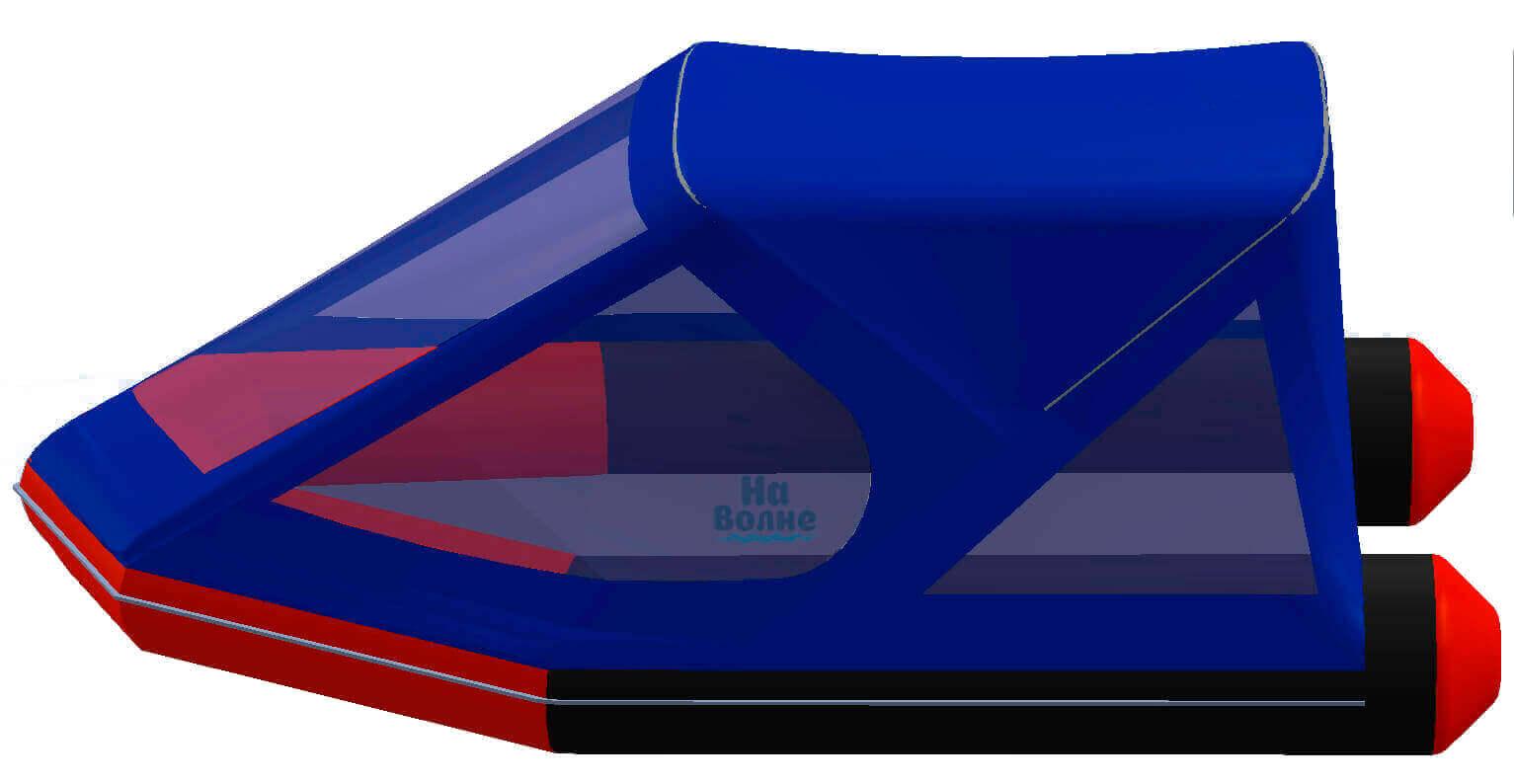 Тент трансформер на лодку Лоцман М300 (Киль) - фото 3