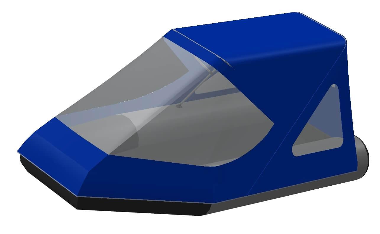 Тент трансформер на лодку Grinda (Гринда) 270ТНД - фото 2