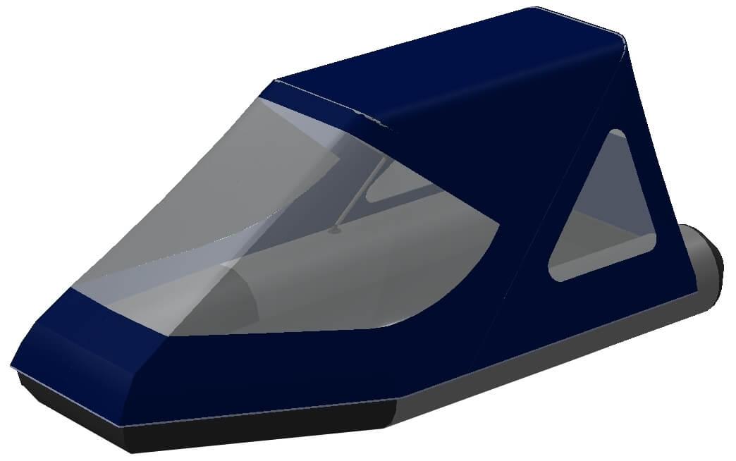 Тент трансформер на лодку Aqua-Storm (Аква Шторм) STM 280 - фото 1