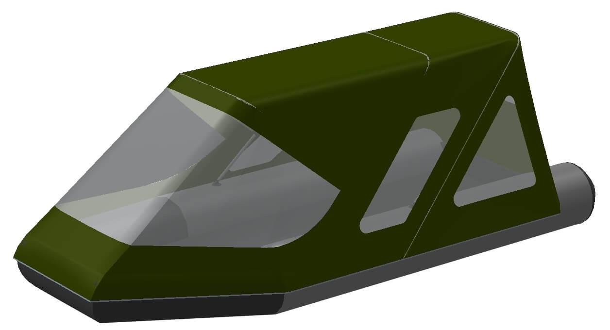 Тент трансформер на лодку Aqua-Storm (Аква Шторм) STK 450 EVOLUTION - фото 7