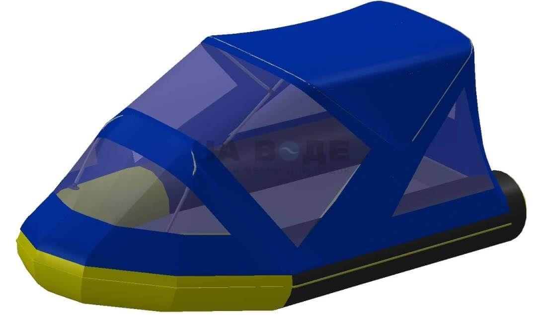 Тент комбинированный на лодку Quicksilver (Квиксильвер) Heavy-Duty 380, комплектация Классик - фото 2
