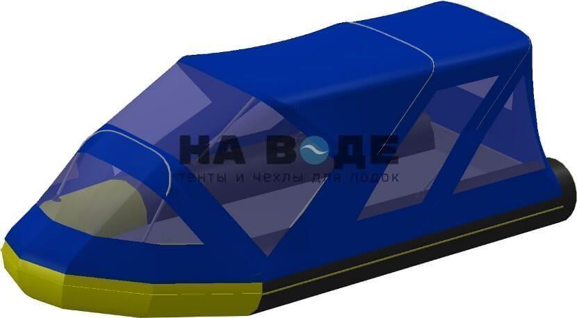 Тент комбинированный на лодку Quicksilver (Квиксильвер) Heavy-Duty 430, комплектация Классик - фото 2