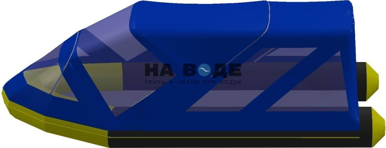 Тент комбинированный на лодку Quicksilver (Квиксильвер) Heavy-Duty 430, комплектация Классик - фото 3