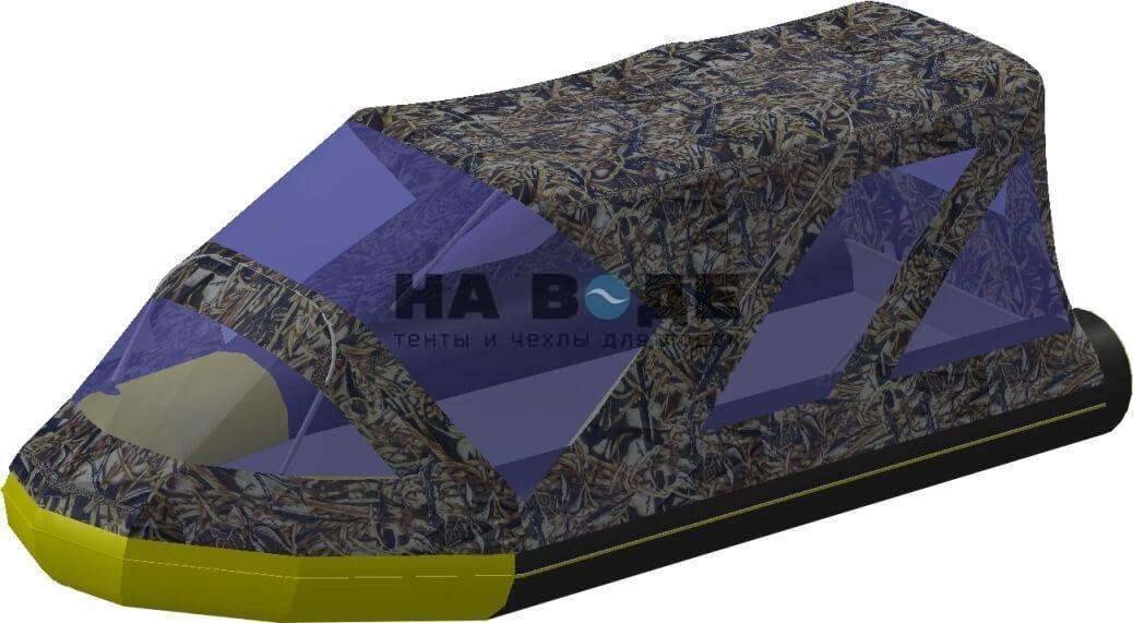 Тент комбинированный на лодку Quicksilver (Квиксильвер) Heavy-Duty 430, комплектация Классик - фото 7
