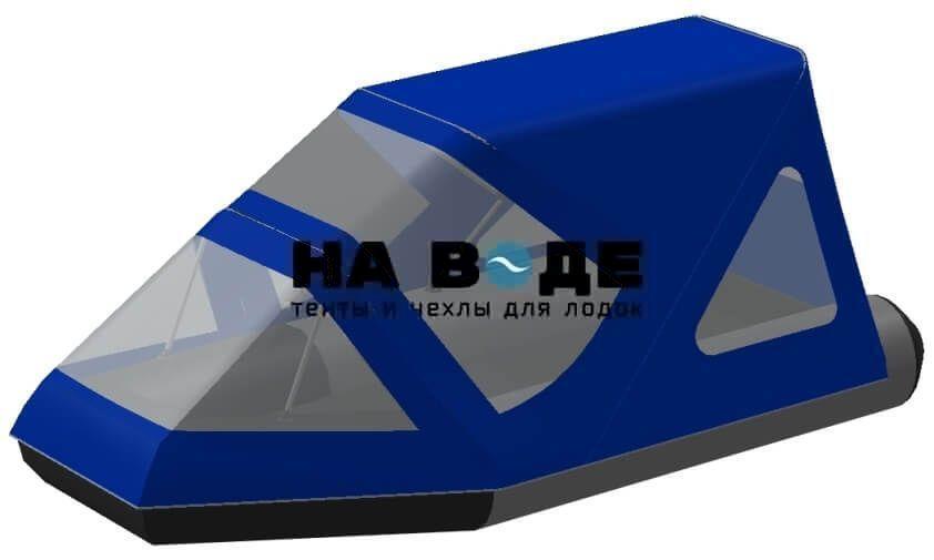 Тент комбинированный на лодку Aqua-Storm (Аква Шторм) STK 330 EVOLUTION, комплектация Классик - фото 1