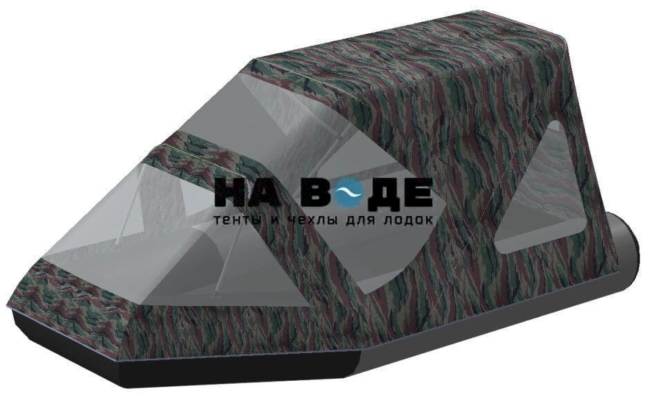 Тент комбинированный на лодку Aqua-Storm (Аква Шторм) STK 330 EVOLUTION, комплектация Классик - фото 5