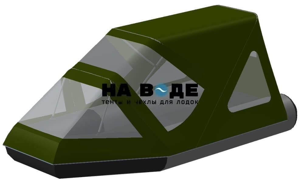 Тент комбинированный на лодку Aqua-Storm (Аква Шторм) STK 330 EVOLUTION, комплектация Классик - фото 6