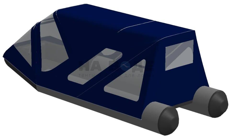 Тент комбинированный на лодку Aqua-Storm (Аква Шторм) STK 450 EVOLUTION, комплектация Классик - фото 3