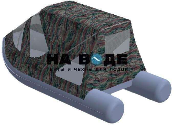 Тент комбинированный на лодку AZIMUT (Азимут) Taifun 350, комплектация Классик - фото 6