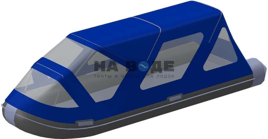 Тент комбинированный на лодку AZIMUT (Азимут) Taifun 420, комплектация Классик - фото 1