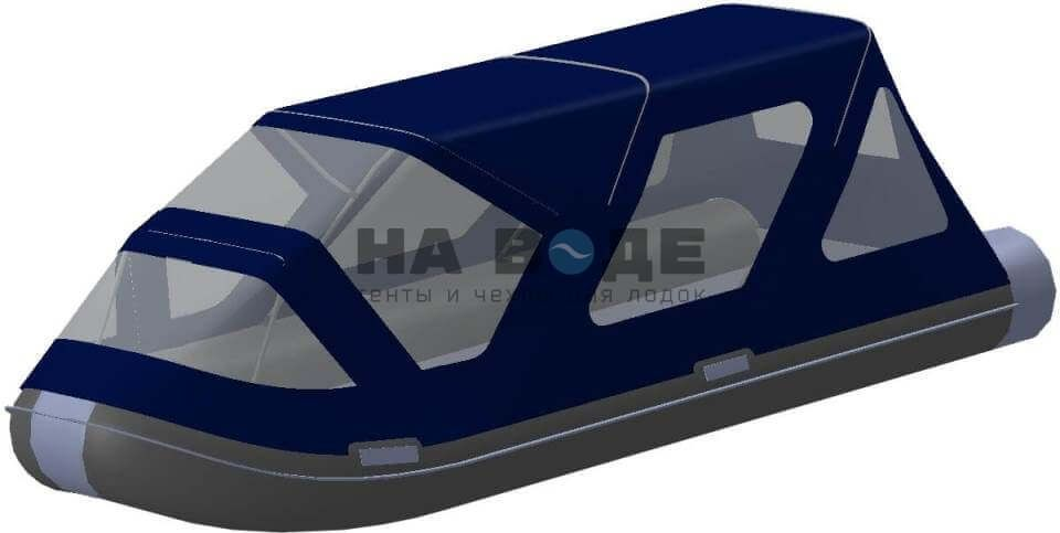Тент комбинированный на лодку AZIMUT (Азимут) Taifun 420, комплектация Классик - фото 2