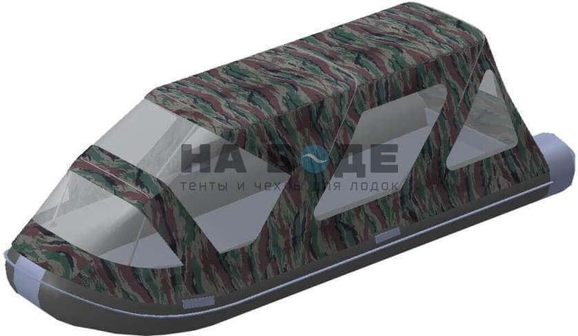 Тент комбинированный на лодку AZIMUT (Азимут) Taifun 420, комплектация Классик - фото 4