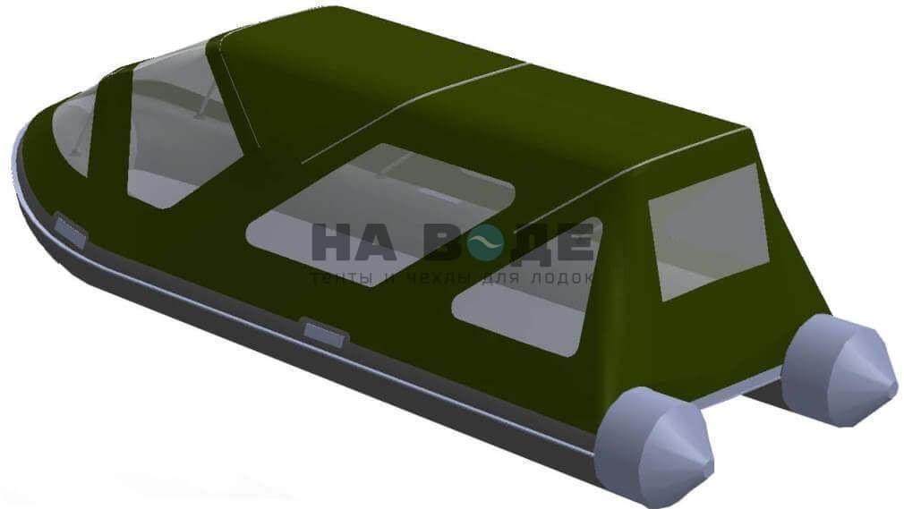 Тент комбинированный на лодку AZIMUT (Азимут) Taifun 420, комплектация Классик - фото 6