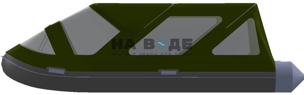 Тент комбинированный на лодку AZIMUT (Азимут) Taifun 420, комплектация Классик - фото 7