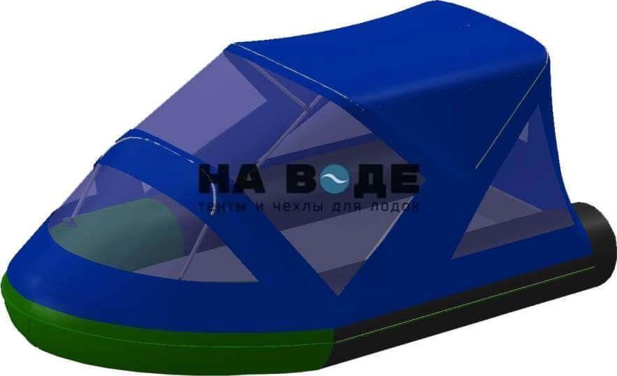 Тент комбинированный на лодку BoatMaster (БотМастер) 310Т, комплектация Классик - фото 1