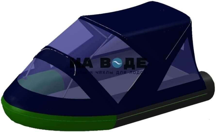 Тент комбинированный на лодку BoatMaster (БотМастер) 310Т, комплектация Классик - фото 2
