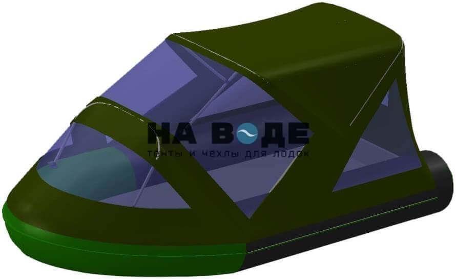 Тент комбинированный на лодку BoatMaster (БотМастер) 310Т, комплектация Классик - фото 5