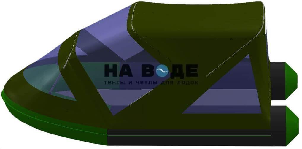Тент комбинированный на лодку BoatMaster (БотМастер) 310Т, комплектация Классик - фото 6