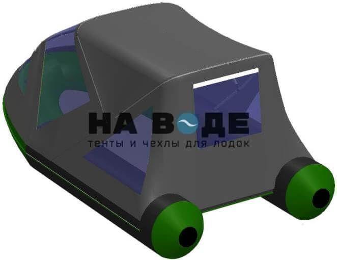 Тент комбинированный на лодку BoatMaster (БотМастер) 310Т, комплектация Классик - фото 7