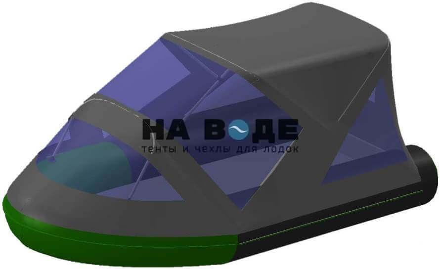 Тент комбинированный на лодку BoatMaster (БотМастер) 310Т, комплектация Классик - фото 8