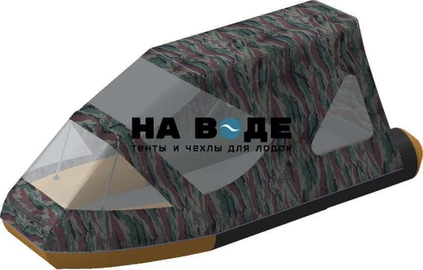 Тент комбинированный на лодку Altair (Альтаир) JOKER 320 AIRDECK, комплектация Классик - фото 4
