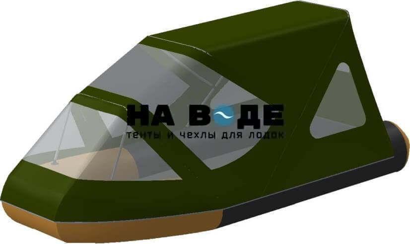Тент комбинированный на лодку Altair (Альтаир) JOKER 320 AIRDECK, комплектация Классик - фото 5