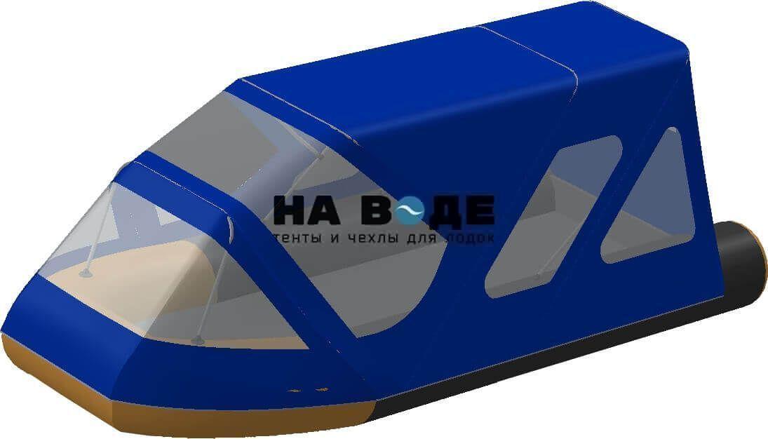 Тент комбинированный на лодку Altair (Альтаир) Pro ultra 440, комплектация Классик - фото 2
