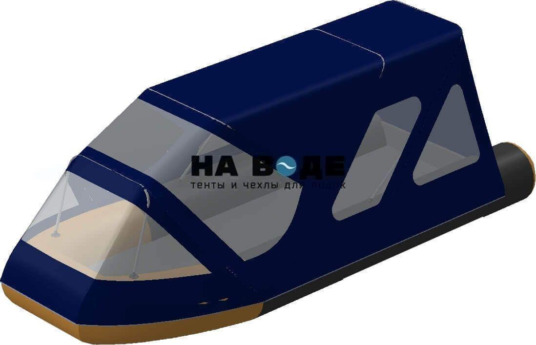 Тент комбинированный на лодку Altair (Альтаир) Pro ultra 440, комплектация Классик - фото 3