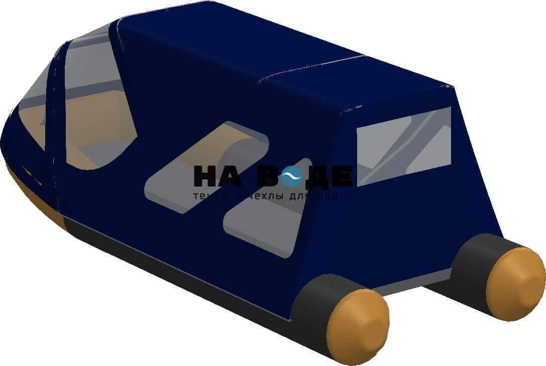 Тент комбинированный на лодку Altair (Альтаир) Pro ultra 440, комплектация Классик - фото 4
