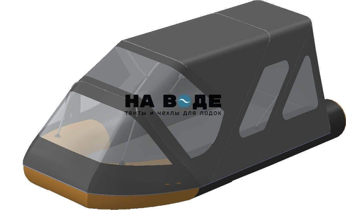 Тент комбинированный на лодку Altair (Альтаир) Pro ultra 440, комплектация Классик - фото 1