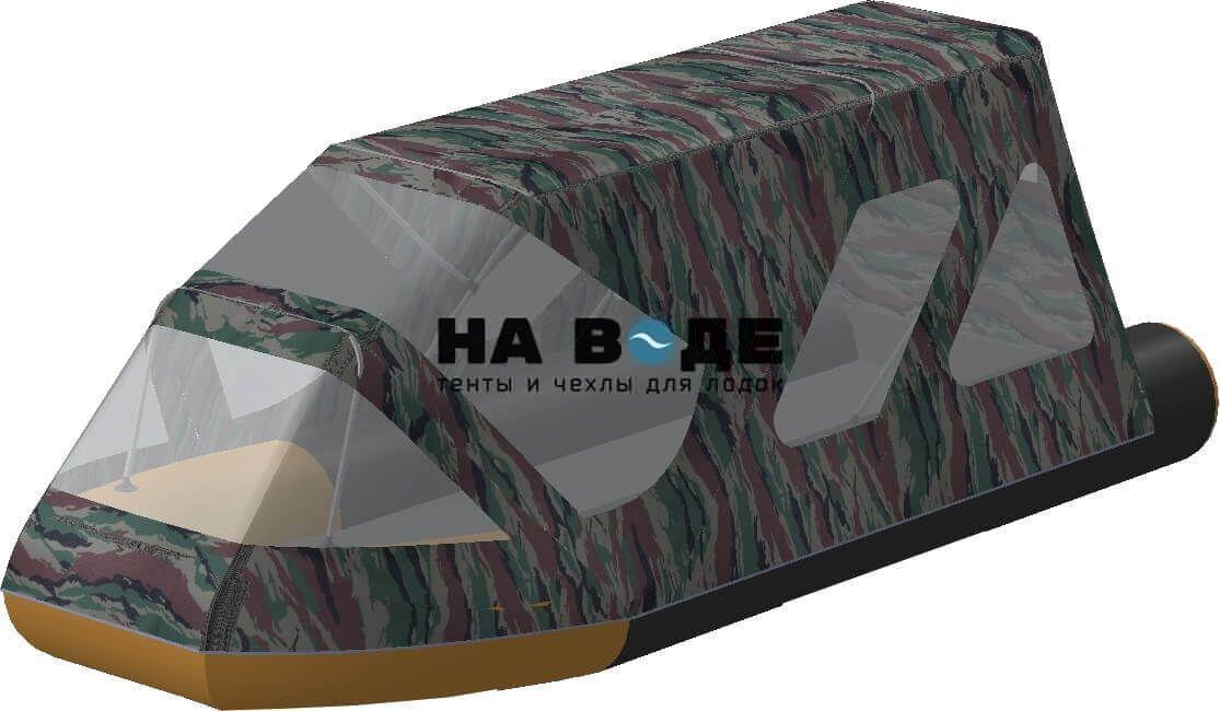 Тент комбинированный на лодку Altair (Альтаир) Pro ultra 440, комплектация Классик - фото 7