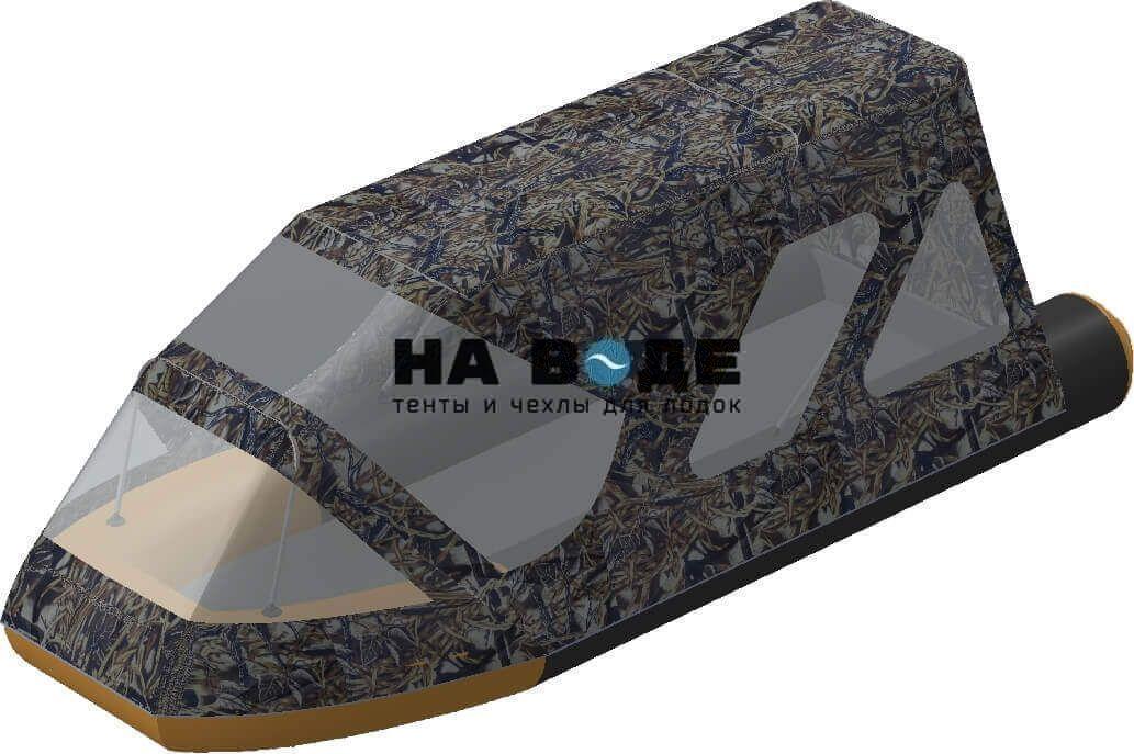 Тент комбинированный на лодку Altair (Альтаир) Pro ultra 440, комплектация Классик - фото 9