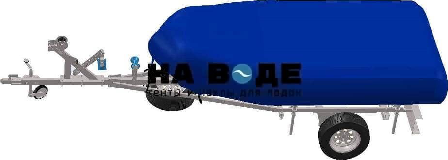 Транспортировочный тент на лодку BoatMaster (БотМастер) 310 TА ЛЮКС - фото 2
