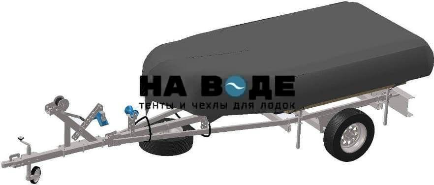Транспортировочный тент на лодку BoatMaster (БотМастер) 310 TА ЛЮКС - фото 5