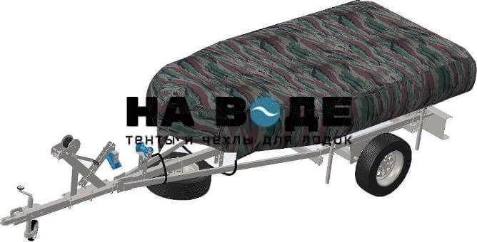 Транспортировочный тент на лодку BoatMaster (БотМастер) 310 TА ЛЮКС - фото 7