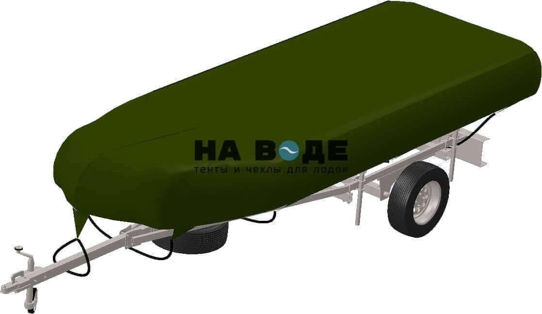 Транспортировочный тент на лодку Quicksilver (Квиксильвер) Heavy-Duty 530 - фото 6