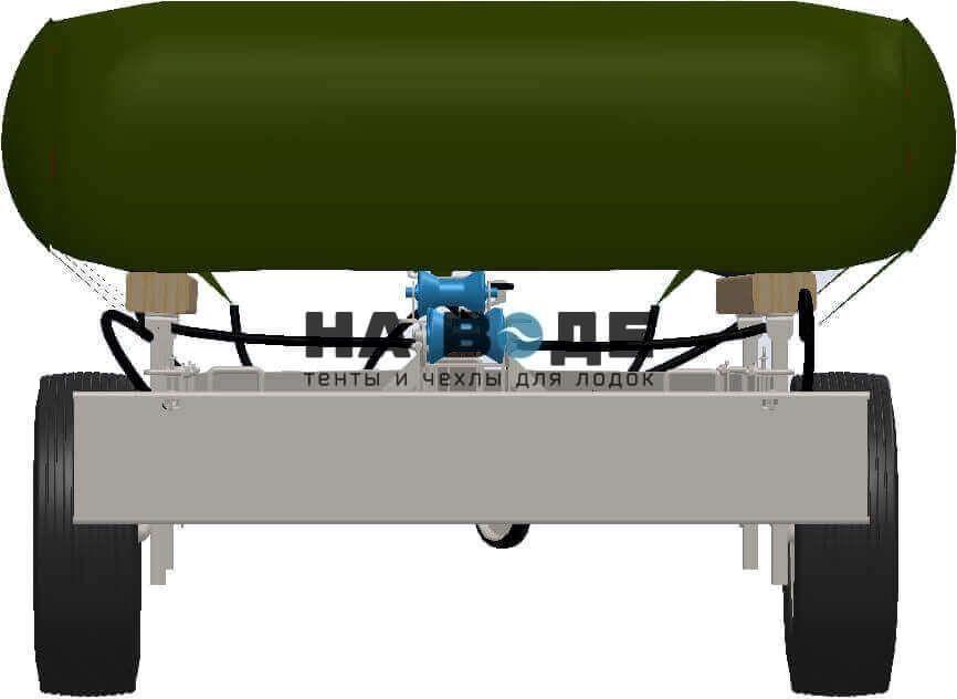 Транспортировочный тент на лодку Quicksilver (Квиксильвер) Heavy-Duty 530 - фото 8