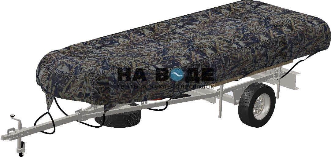 Транспортировочный тент на лодку Quicksilver (Квиксильвер) Heavy-Duty 530 - фото 9