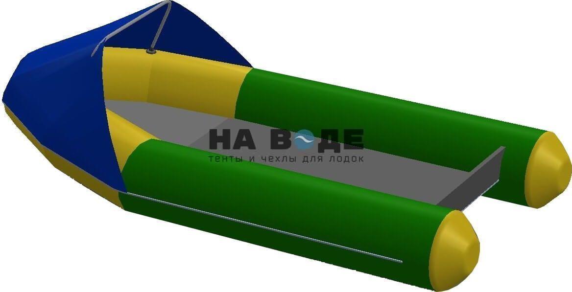 Тент носовой на лодку Quicksilver (Квиксильвер) Heavy-Duty 380 - фото 3
