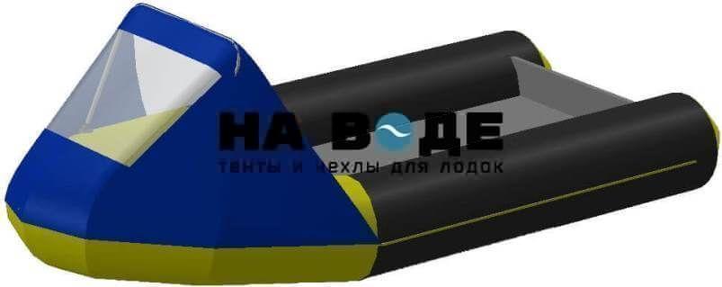 Тент носовой с окном на лодку Байкал 290МК - фото 1