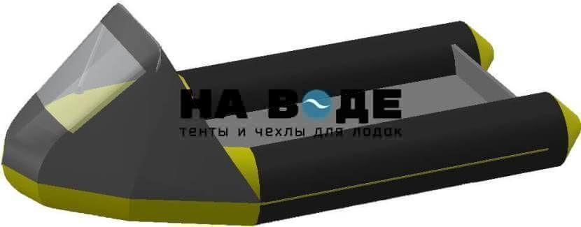 Тент носовой с окном на лодку Байкал 290МК - фото 7