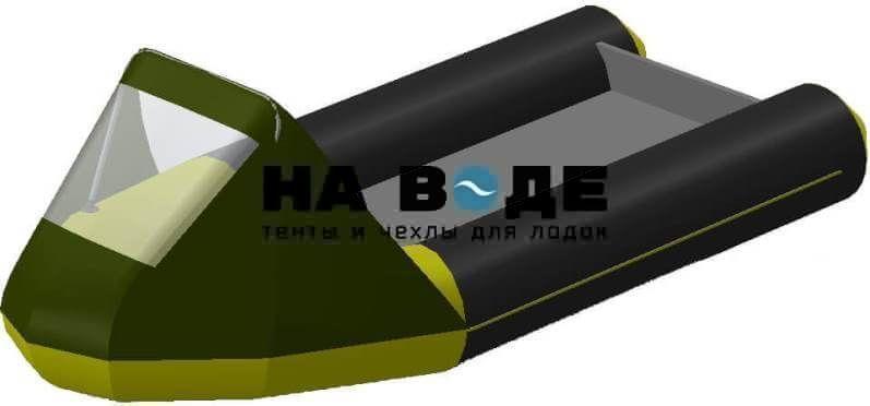 Тент носовой с окном на лодку Байкал 290МК - фото 8