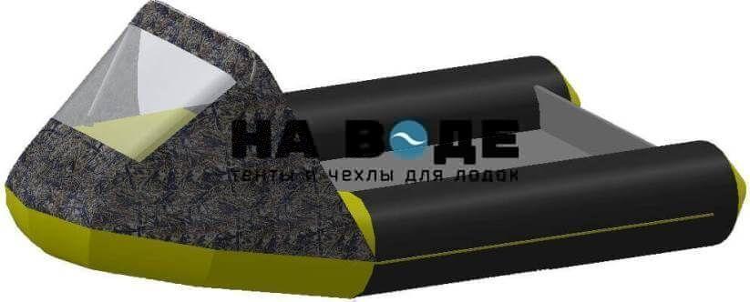 Тент носовой с окном на лодку Байкал 290МК - фото 9